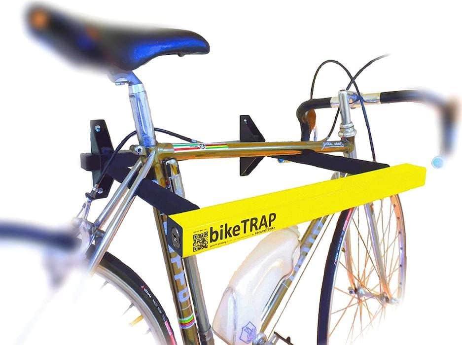 soporte de pared con seguridad E bike