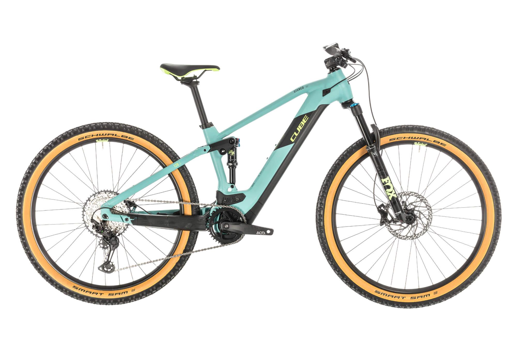 Bicicleta eléctrica de montaña doble cube