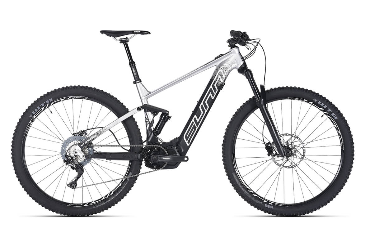 Bicicleta eléctrica de montaña doble suspensión Sunn