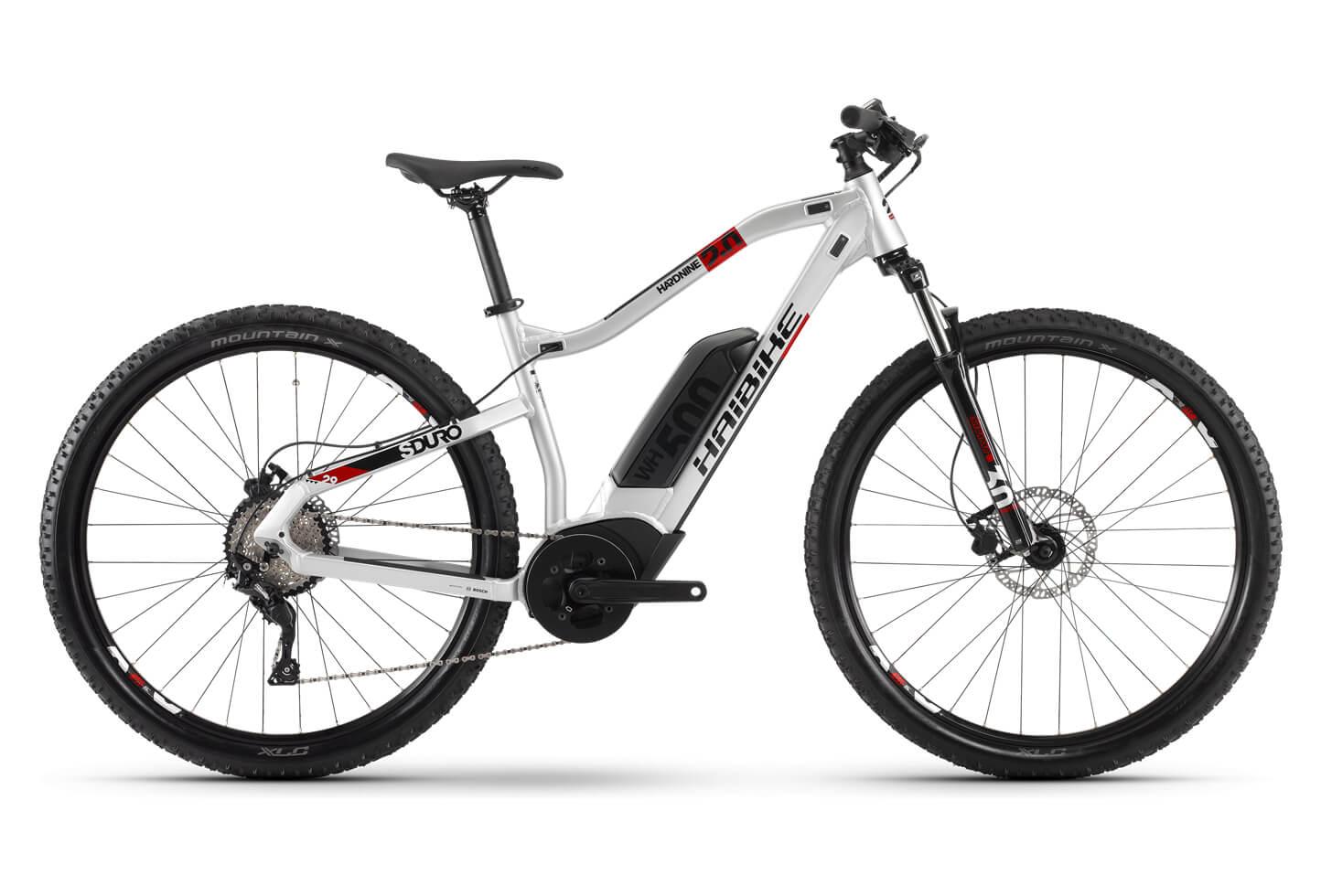 Bicicleta eléctrica de montaña haibike